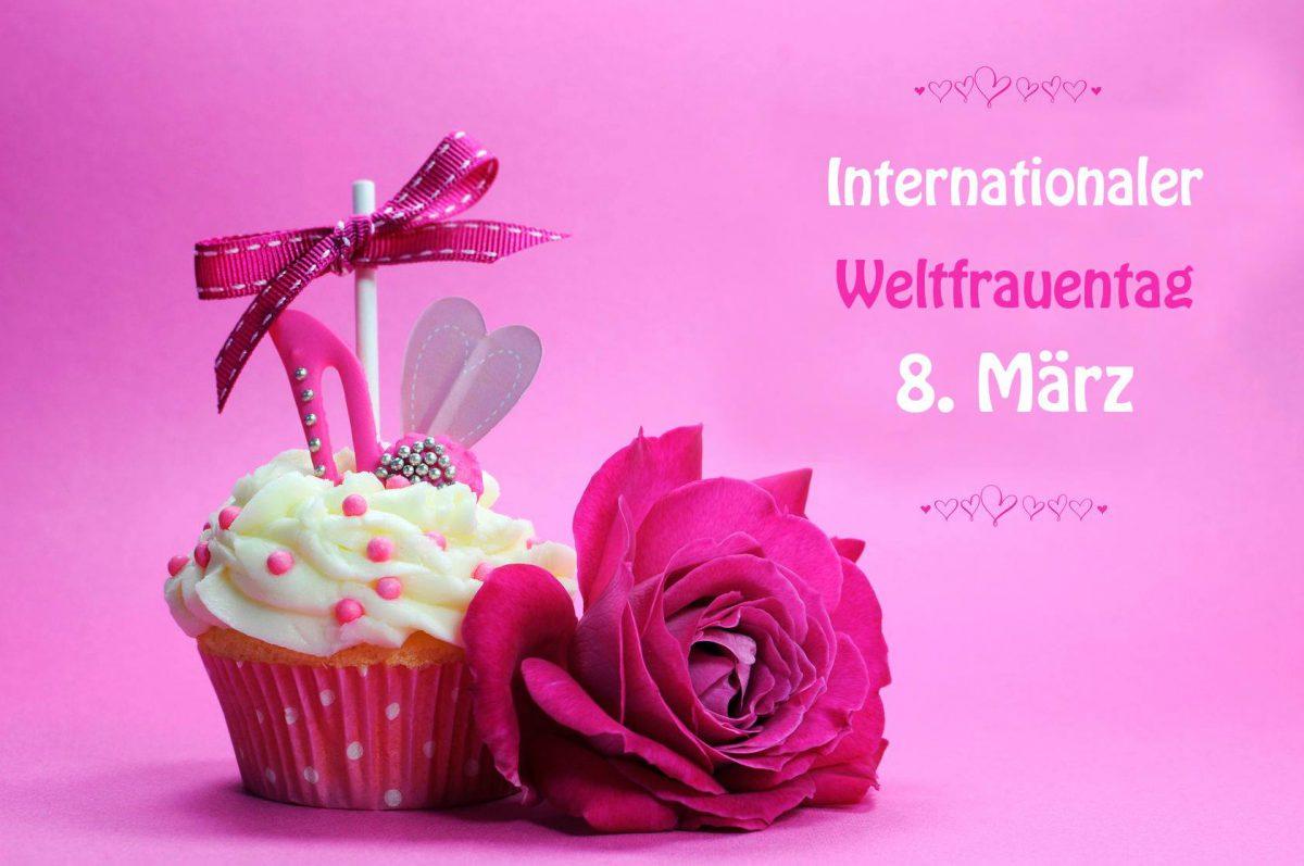 Weltfrauentag kostenlosen Kuchen